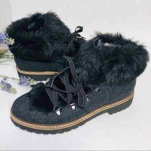 Franco Sarto hiking boots size:8.5